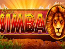 Автомат African Simba во игорный дом Вулкан