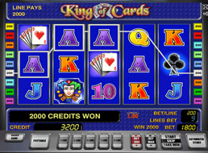 Играть в King of Cards в казино Вулкан