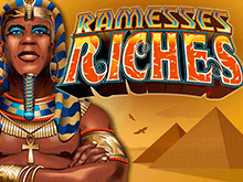 Призовой аппарат Ramesses Riches от виртуального клуба Вулкан Россия