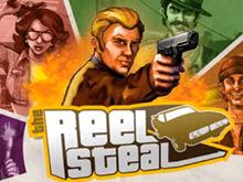 Автомат Reel Steal, находящийся на игровом портале Вулкан Россия