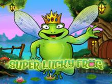 Автомат на рабочем зеркале Vulcan Super Lucky Frog онлайн