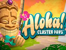 Играть онлайн в Aloha Cluster Pays – игровой автомат