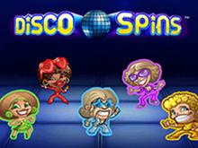 Игровой автомат Disco Spins в казино Вулкан