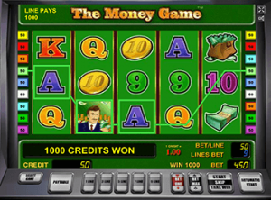 The Money Game в казино Вулкан бесплатно