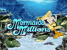 Азартный игровой онлайн слот Mermaids Millions